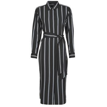 Textil Ženy Společenské šaty Lauren Ralph Lauren RYNETTA-LONG SLEEVE-CASUAL DRESS Černá
