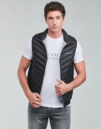 Textil Muži Prošívané bundy Armani Exchange 8NZQ52 Černá