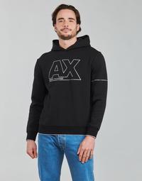 Textil Muži Mikiny Armani Exchange 6KZMFF Černá