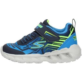 Boty Chlapecké Nízké tenisky Skechers 401500N Modrá