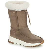 Boty Ženy Zimní boty Geox FALENA ABX Béžová
