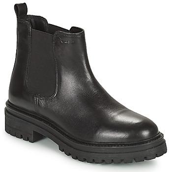 Boty Ženy Kotníkové boty Geox IRIDEA Černá