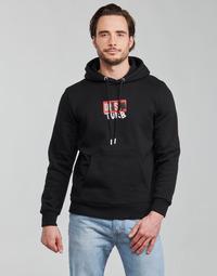 Textil Muži Mikiny Diesel S-GIRK-HOOD-B8 Černá