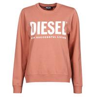 Textil Ženy Mikiny Diesel F-ANGS-ECOLOGO Růžová