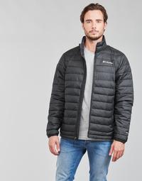 Textil Muži Prošívané bundy Columbia POWDER LITE JACKET Černá