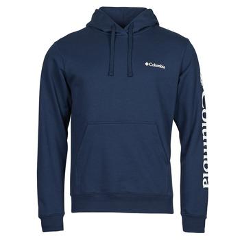 Textil Muži Mikiny Columbia VIEWMONT II SLEEVE GRAPHIC HOODIE Tmavě modrá / Bílá
