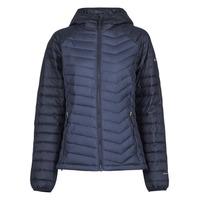 Textil Ženy Prošívané bundy Columbia POWDER LITE HOODED JACKET Tmavě modrá / Černá