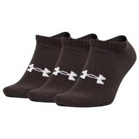 Doplňky  Ponožky Under Armour Core No Show 3Pk Socks černá