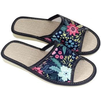 Boty Ženy Papuče John-C Dámske tmavo-modré papuče MENNA tmavomodrá