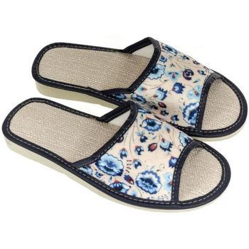 Boty Ženy Papuče John-C Dámske modré papuče MURRA tmavomodrá