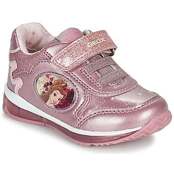 Boty Dívčí Nízké tenisky Geox TODO Růžová