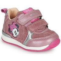 Boty Dívčí Nízké tenisky Geox RISHO Růžová