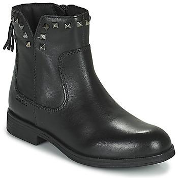 Boty Dívčí Kotníkové boty Geox AGATO Černá