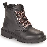 Boty Dívčí Kotníkové boty Geox SHAYLAX Černá