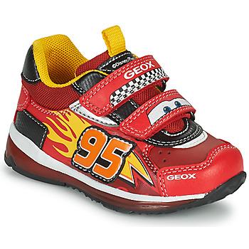 Boty Chlapecké Nízké tenisky Geox TODO Červená / Žlutá