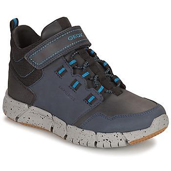 Boty Chlapecké Kotníkové boty Geox FLEXYPER ABX Tmavě modrá