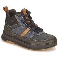 Boty Chlapecké Kotníkové boty Geox ASTUTO Tmavě modrá