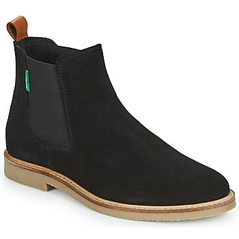 Boty Ženy Kotníkové boty Kickers TYGA Černá