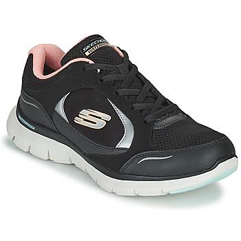 Boty Ženy Nízké tenisky Skechers FLEX APPEAL 4.0 Černá / Růžová