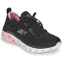 Boty Ženy Nízké tenisky Skechers GLIDE-STEP SPORT Černá / Růžová