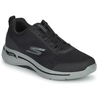 Boty Muži Nízké tenisky Skechers GO WALK ARCH FIT Černá