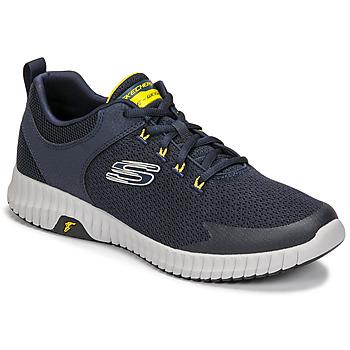 Boty Muži Nízké tenisky Skechers ELITE FLEX PRIME Tmavě modrá / Žlutá
