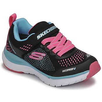 Boty Dívčí Nízké tenisky Skechers ULTRA GROOVE Černá / Růžová / Modrá