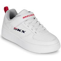 Boty Děti Nízké tenisky Skechers SPORT COURT 92 Bílá