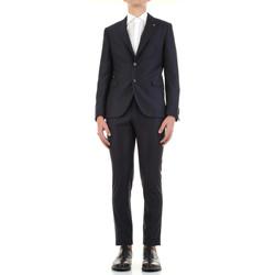 Textil Muži Obleky Manuel Ritz 3030A3328-213032 Modrá