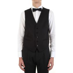 Textil Muži Oblekové vesty Manuel Ritz 3030W9077-213029 Černá