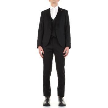 Textil Muži Obleky Manuel Ritz 3030ARW3149-213050 Černá