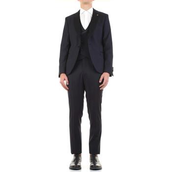 Textil Muži Obleky Manuel Ritz 3030ARW3149-213050 Modrá