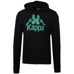 Textil Muži Teplákové bundy Kappa Authentic Zimim Černá