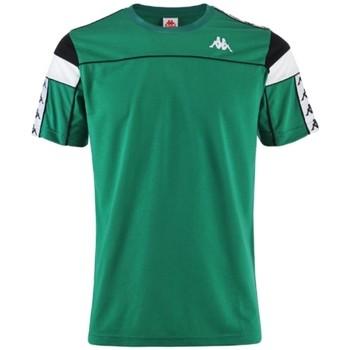 Textil Muži Trička s krátkým rukávem Kappa Banda Arar T-Shirt Zelená