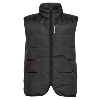 Textil Muži Prošívané bundy Calvin Klein Jeans PADDED VEST Černá