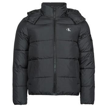 Textil Muži Prošívané bundy Calvin Klein Jeans ESSENTIALS NON DOWN JACKET Černá