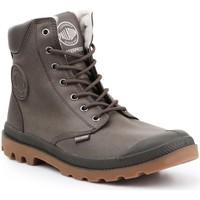 Boty Kotníkové boty Palladium Pampa 72992-213 brown