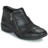 Boty Ženy Kotníkové boty Rieker SALOMA Tmavě modrá