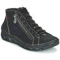 Boty Ženy Kotníkové boty Rieker MEMOIRA Černá