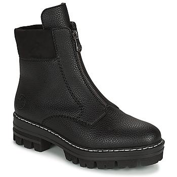 Boty Ženy Kotníkové boty Rieker QUAMIN Černá