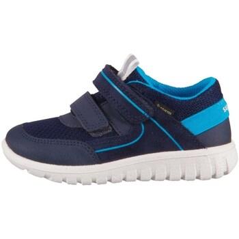 Boty Děti Nízké tenisky Superfit Sport 7 Mini Modré, Tmavomodré