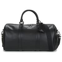 Taška Muži Cestovní tašky Polo Ralph Lauren DUFFLE DUFFLE SMOOTH LEATHER Černá