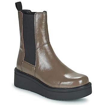 Boty Ženy Kotníkové boty Vagabond Shoemakers TARA Hnědá / Světlá