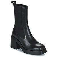 Boty Ženy Polokozačky Vagabond Shoemakers BROOKE Černá