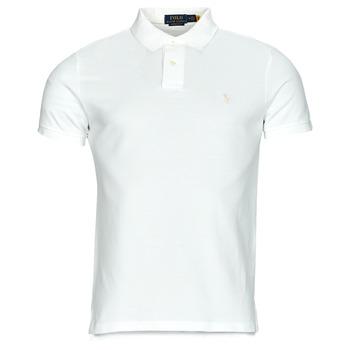 Textil Muži Polo s krátkými rukávy Polo Ralph Lauren PETRINA Bílá