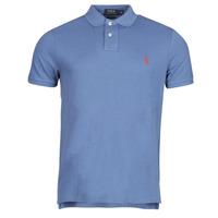 Textil Muži Polo s krátkými rukávy Polo Ralph Lauren PETRINA Modrá