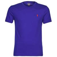 Textil Muži Trička s krátkým rukávem Polo Ralph Lauren SOPELA Modrá