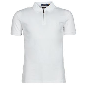 Textil Muži Polo s krátkými rukávy Polo Ralph Lauren BATTYNA Bílá