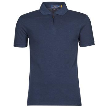 Textil Muži Polo s krátkými rukávy Polo Ralph Lauren BATTYNA Modrá