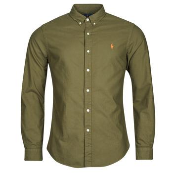 Textil Muži Košile s dlouhymi rukávy Polo Ralph Lauren DRISSY Khaki
